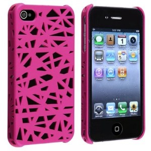 Bird Nest Hot Pink iphone case
