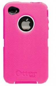 girly pink OtterBox Defender Case for iPhone 4