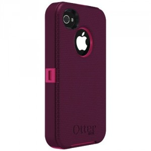 girls plum dark deep pink iphone case