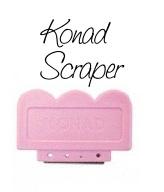 Konad Nail art Scraper (or swiper)