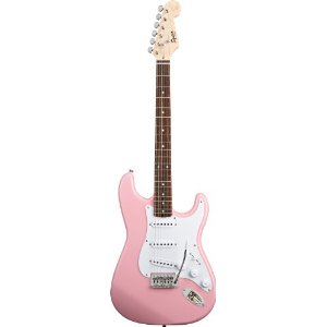 Pastel Baby Pale Light Pink Electric Guitar for Girly Girls