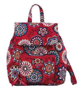 Red Bella Taylor Floral Backpack