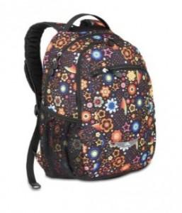 Black floral backpack by High Sierra