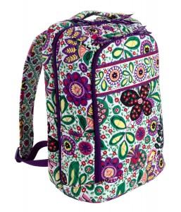 Colorful Vera Bradley floral backpack