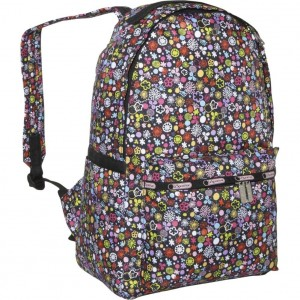 Tiny Flower Pattern Cute backpack for women by Lesportsac
