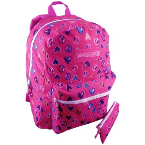 Hot Pink Hearts backpack by TrailMaker