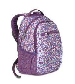 Purple Flowery Backpack by High Sierra