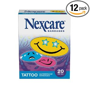 Cute Smiley Face waterproof bandaids