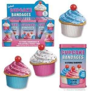 Cute cupcake bandaids