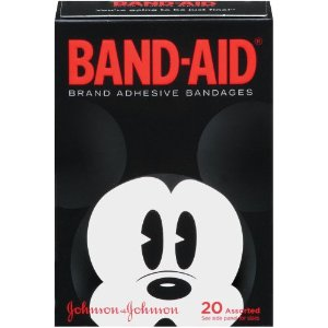 Mickey mouse bandages for Disney fans