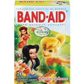 Cute Disney fairies bandaids for girly girls