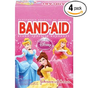 Disney Princesses bandaids