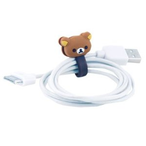 Rilakkuma cute Japanese teddy bear cable winder