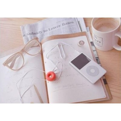Cute Donut earphone winder
