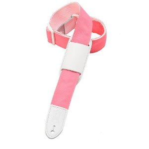 girly girls light pale baby pink guitar strap