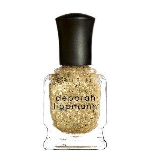 Gold Glitter Debbie Lippmann Nail polish lacquer - Boom Boom Pow