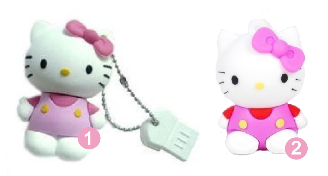 Pink Hello Kitty USB drives