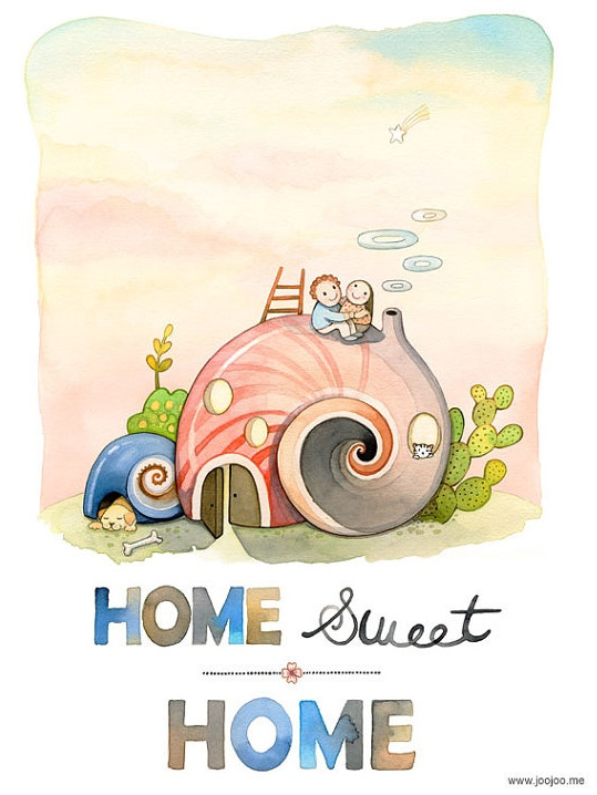 Home Sweet Home by joojoo.me
