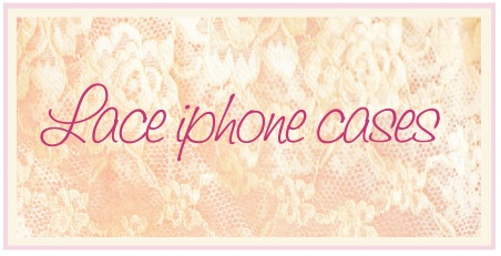 Lace iphone cases