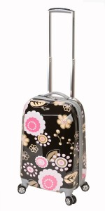 Flowery luggage by Rockland