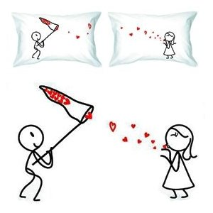 lovers pillows