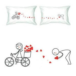 Boldloft his and hers pillows
