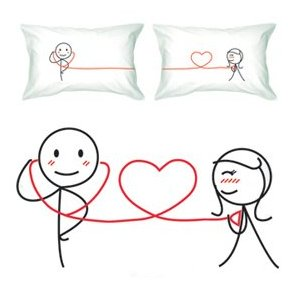 His and Hers BoldLoft pillowcases