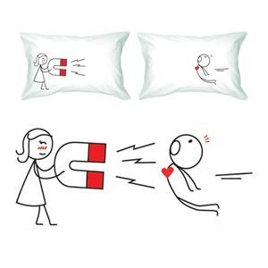 Romantic pillows