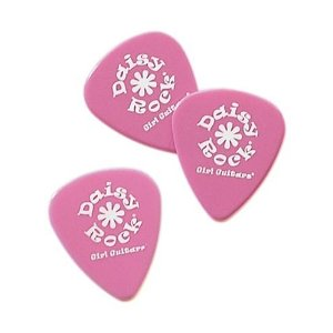 Pink Guitar Picks aka Pink Plectrums by Daisy Rock