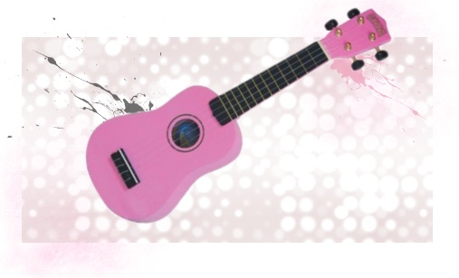Pink Ukulele