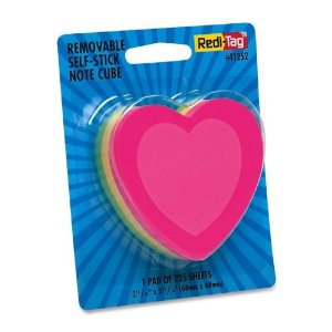 heart postits