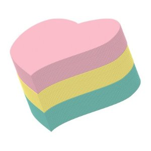 Heart post its