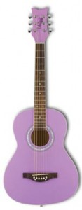 Girls Lilac Purple Acoustic Guitar