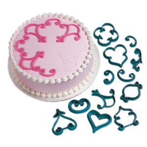 Fancy icing patterns Cake decorating kit