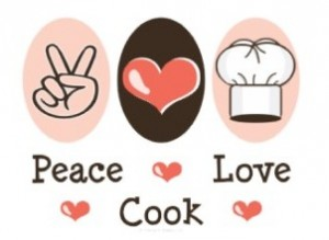 Personalized recipe binders selection: Peace, love, cook