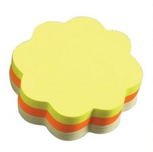 Yellow &amp; Orange Flower Sticky notes / Post-its