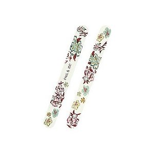 Chinese style floral design nail files