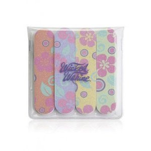 Flower design nail files
