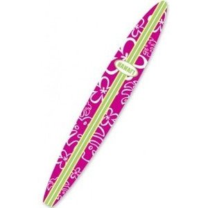 Hot Pink Surf board shaped nail file