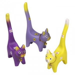 Colorful Cat ring holders