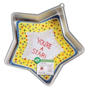 Cute cake pans: Star shaped cake pan