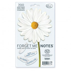 Cool design: Daisy flower forget me notes - sticky notes