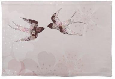 Pink Bird placemats