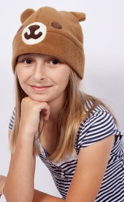 Kawaii Brown Bear Hat