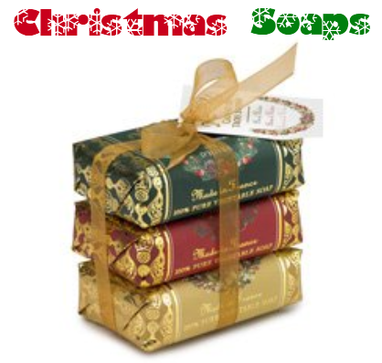 christmas soaps