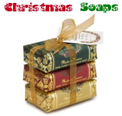 christmas soaps