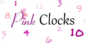 pink clocks